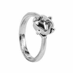 VICTORIA Plain Ring Stål från Astrid & Agnes