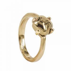 VICTORIA Plain Ring Guld från Astrid & Agnes