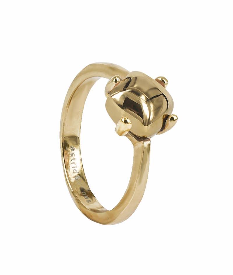 Astrid & Agnes VICTORIA Plain Ring Guld
