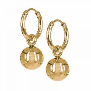 NOVA Örhängen Guld från Astrid & Agnes