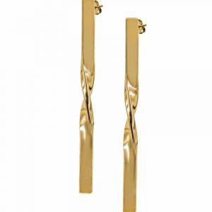 TINA Örhängen Guld från Astrid & Agnes