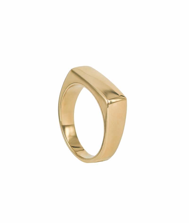 AROCK TIM Ring Guld