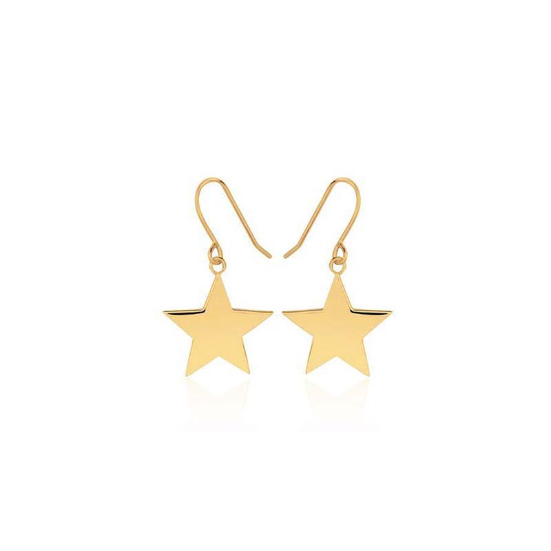 Sophie by sophie star hook earrings gold