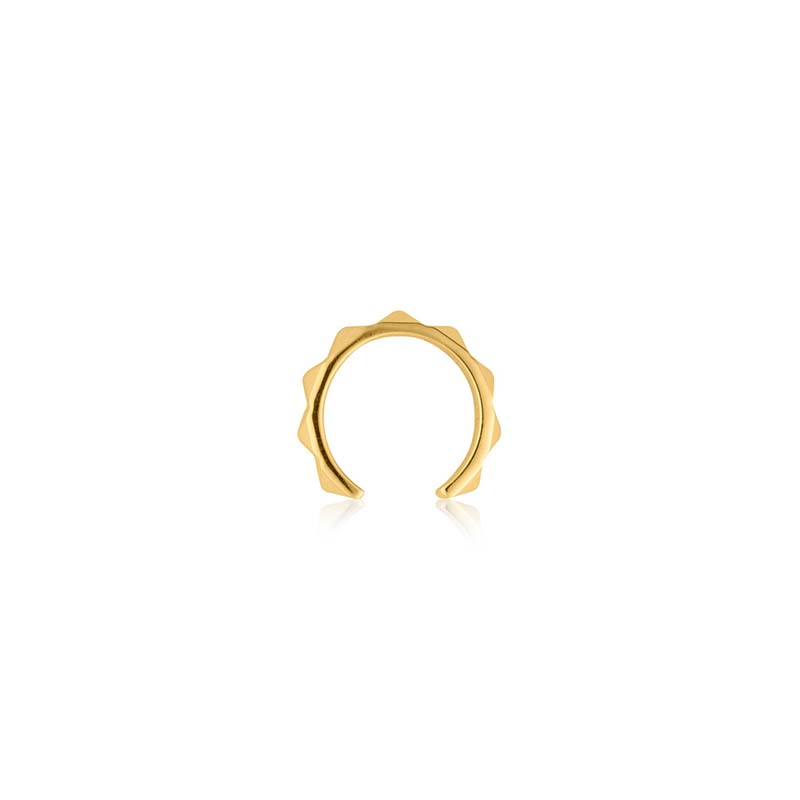Sophie by sophie pyramid earcuff gold