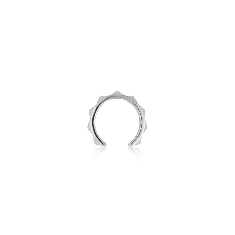 Sophie by sophie pyramid earcuff silver
