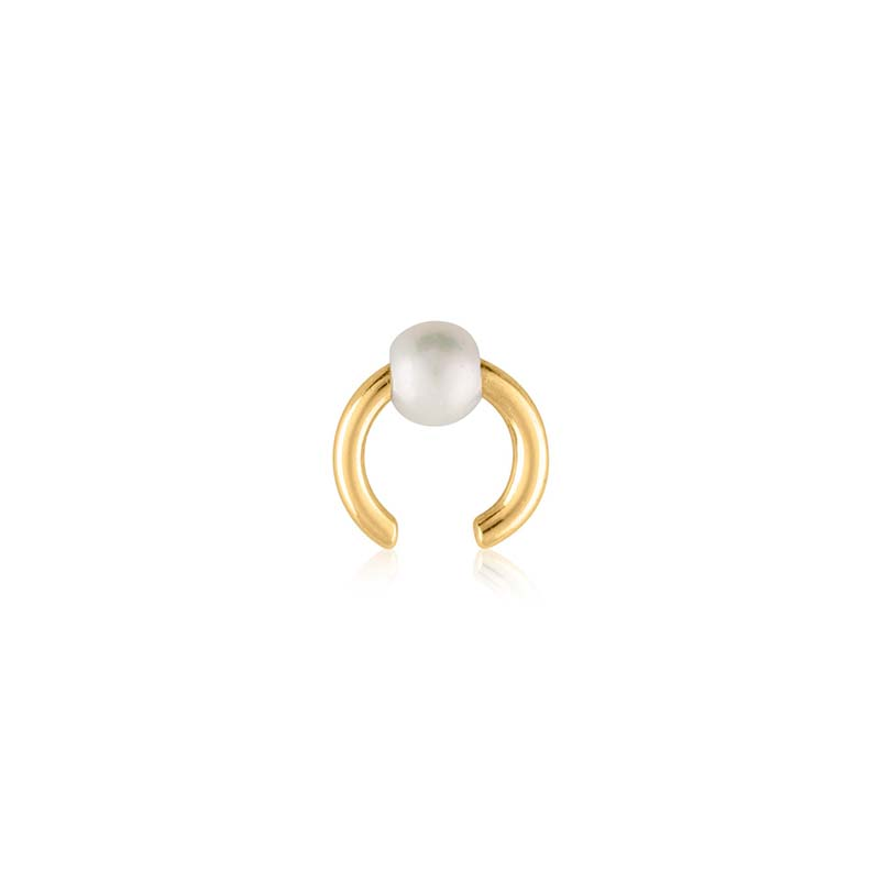 Sophie by sophie pearl earcuff gold