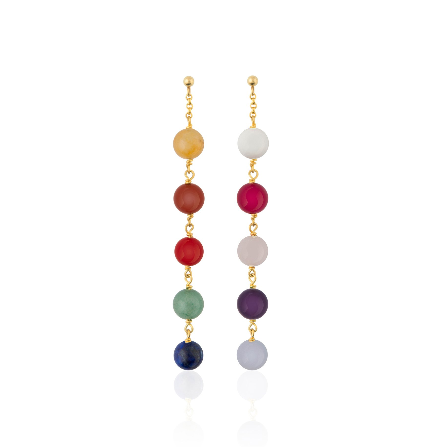 Sophie by sophie childhood earrings - gold