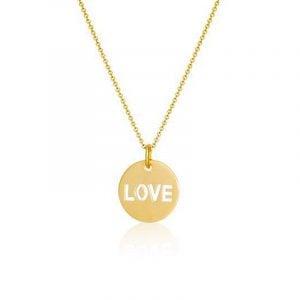 Love Necklace Gold från SOPHIE by SOPHIE Smycken