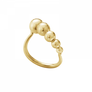 Moonlight Grapes Slim Ring 18K Guld från Georg Jensen