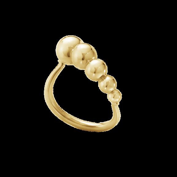 Moonlight Grapes Slim Ring 18K Guld från Georg Jensen