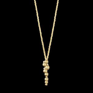 Moonlight Grapes Halsband Guld & Diamanter 0.05ct från Georg Jensen