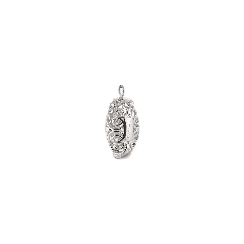 CU Jewellery Letters Take Care Pendant Silver