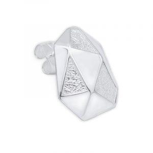 The Arktis - Silver Pin Earring från TREEM