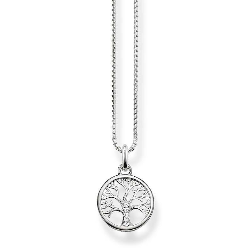 Thomas Sabo Halsband Kärlekens Träd Silver