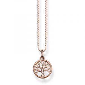 Halsband Kärlekens Träd Rosé från Thomas Sabo