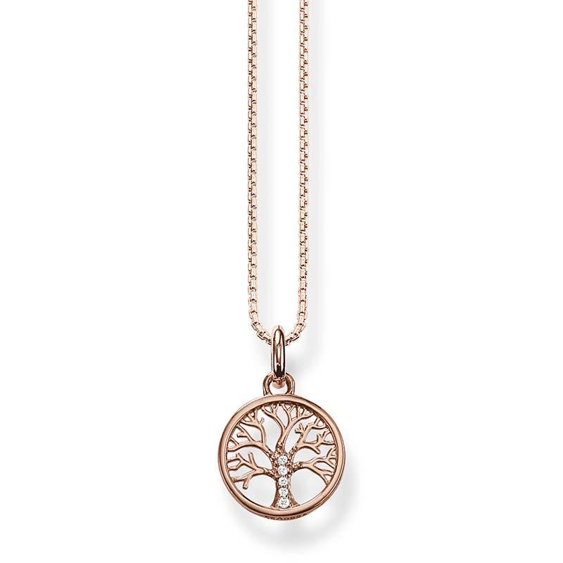 Thomas Sabo Halsband Kärlekens Träd Rosé