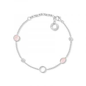 Armband Rosa Stenar Charm Club från Thomas Sabo
