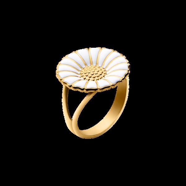 Daisy Ring Guldpläterat Silver Stor från Georg Jensen