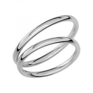 Schalins Förlovningsring Sign Of Love SR1001 18K Platina  - Jewelrybox.se