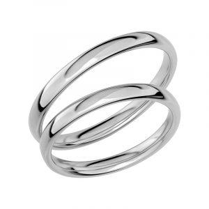 Schalins Förlovningsring Sign Of Love SR1002 18K Platina  - Jewelrybox.se