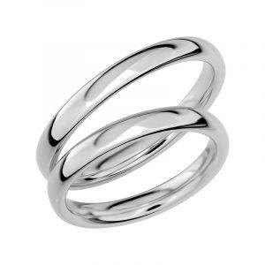 Schalins Förlovningsring Sign Of Love SR1003 18K Platina  - Jewelrybox.se