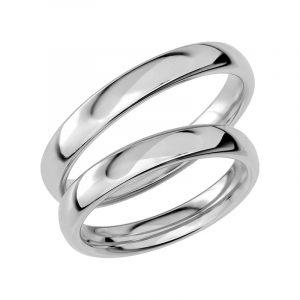 Schalins Förlovningsring Sign Of Love SR1004 18K Platina  - Jewelrybox.se