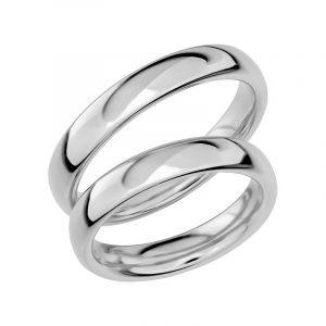 Schalins Förlovningsring Sign Of Love SR1005 18K Platina  - Jewelrybox.se