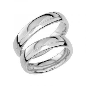 Schalins Förlovningsring Sign Of Love SR1006 18K Platina  - Jewelrybox.se