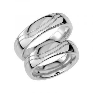 Schalins Förlovningsring Sign Of Love SR1007 18K Platina  - Jewelrybox.se