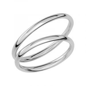 Schalins Förlovningsring Sign Of Love SR1008 18K Platina  - Jewelrybox.se