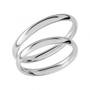 Schalins Förlovningsring Sign Of Love SR1009 18K Platina  - Jewelrybox.se