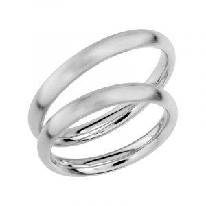 Schalins Förlovningsring Sign Of Love SR1010 18K Platina  - Jewelrybox.se