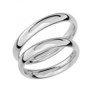 Schalins Förlovningsring Sign Of Love SR1011 18K Platina  - Jewelrybox.se