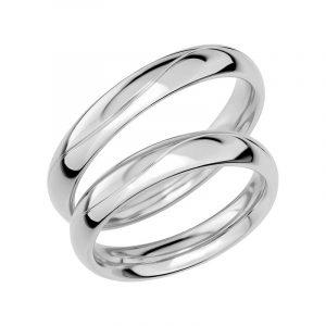 Schalins Förlovningsring Sign Of Love SR1012 18K Platina  - Jewelrybox.se