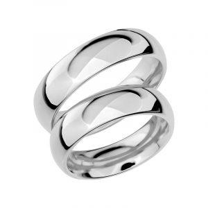 Schalins Förlovningsring Sign Of Love SR1014 18K Platina  - Jewelrybox.se