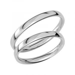 Schalins Förlovningsring Sign Of Love SR1016 18K Platina  - Jewelrybox.se