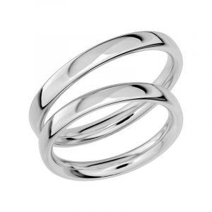 Schalins Förlovningsring Sign Of Love SR1017 18K Platina  - Jewelrybox.se