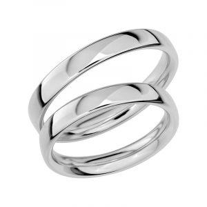 Schalins Förlovningsring Sign Of Love SR1018 18K Platina  - Jewelrybox.se