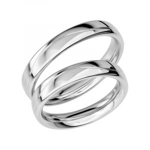 Schalins Förlovningsring Sign Of Love SR1019 18K Platina  - Jewelrybox.se