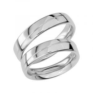 Schalins Förlovningsring Sign Of Love SR1020 18K Platina  - Jewelrybox.se