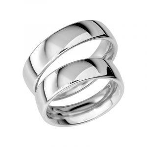 Schalins Förlovningsring Sign Of Love SR1021 18K Platina  - Jewelrybox.se