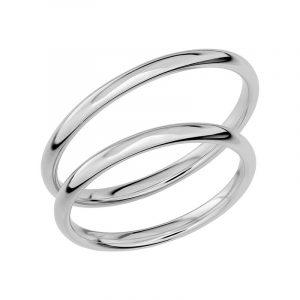 Schalins Förlovningsring Sign Of Love SR1022 18K Platina  - Jewelrybox.se