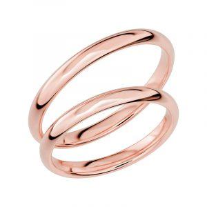 Schalins Förlovningsring Sign Of Love SR1023 18K Roséguld  - Jewelrybox.se