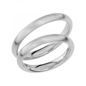 Schalins Förlovningsring Sign Of Love SR1024 18K Platina  - Jewelrybox.se