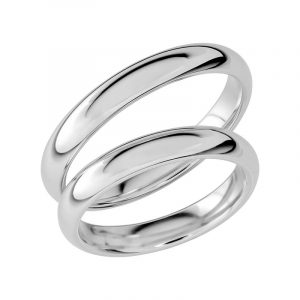 Schalins Förlovningsring Sign Of Love SR1025 18K Platina  - Jewelrybox.se