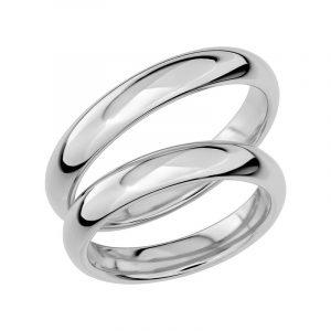 Schalins Förlovningsring Sign Of Love SR1026 18K Platina  - Jewelrybox.se
