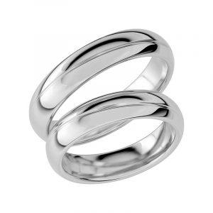 Schalins Förlovningsring Sign Of Love SR1027 18K Platina  - Jewelrybox.se