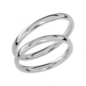 Schalins Förlovningsring Sign Of Love SR1029 18K Platina  - Jewelrybox.se