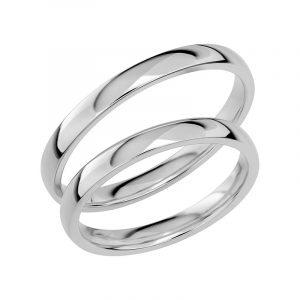 Schalins Förlovningsring Sign Of Love SR1030 18K Platina  - Jewelrybox.se