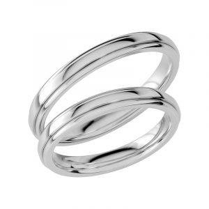 Schalins Förlovningsring Sign Of Love SR1031 18K Platina  - Jewelrybox.se
